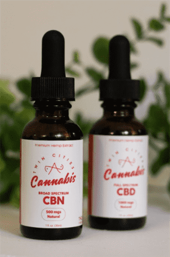Twin Cities Cannabis CBN Oil Drops